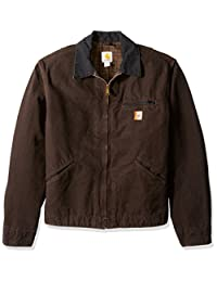 Carhartt Men's Detroit Jacket Blanket Lined Sandstone