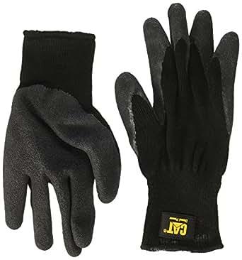 猫咪手套 CAT017410L 大号黑色全涂层乳胶手掌手套 大 2370-2335