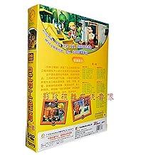 正版儿童卡通DVD 巴布工程师 第一部 第1-30集 5DVD 儿童动画光碟