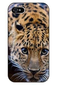 SPRAWL 欧洲品牌 正品苹果爱疯IPHONE4 4S 彩绘手机壳 高品质手机保护套 超精细印花技术+环保无毒印花墨水 彩绘设计系列之:老虎 IPHONE 4/4S