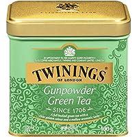 Twinings 川宁 of London 绿茶 Gunpowder 散装茶 罐装 3.53盎司(约100.07克)(6件装)