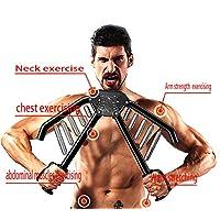 MONYEAR 手臂锻炼器,适用于 ectopectoralis,4 级负载调节(66 磅/88 磅/110 磅/132 磅)手臂/手腕/背部肌肉/室内训练设备