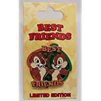 Disney Pin Chip and Dale Best Friends 2 针套装 Le