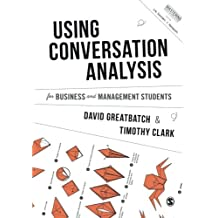 Using Conversation Analysis for Business and Management Students