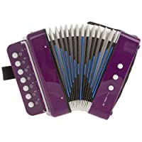 D'Luca Child Button Accordion 紫色