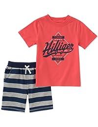 TOMMY HILFIGER 男婴2件短裤套装