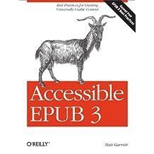 Accessible EPUB 3 (English Edition)