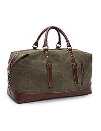Seamand 帆布旅行旅行旅行包Weekender 超大超大手提包手提包