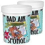 The ORIGINAL Bad Air Sponge吸收异味空气净化剂400g 2灌装(亚马逊跨境自营,保税区发货)