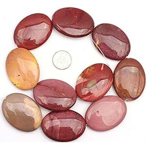 天然椭圆形宝石 diy 珠宝制作宽松 cm 颜色选择