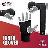 Wyox 拳击内手套凝胶软垫护手绷带 MMA 泰拳训练