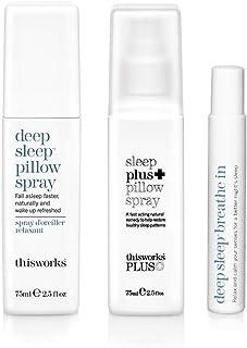 ThisWorks 3 More Sleeps 套装:深层*枕头喷雾 75ml,Sleep Plus 枕头喷雾 75ml,深层** 8ml