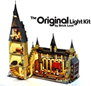 LEGO 哈利波特霍格沃茨大礼堂 LED 照明套件- 75954 - 定制设计 - 手工制作 - 耐用性测试 - 兼容乐高和所有主要品牌