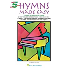 Hymns Made Easy: Five-Finger Piano (English Edition)