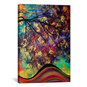 iCanvasART MDN89 Go Forth III by Megan Duncanson Canvas Print, 12 by 8-Inch, 0.75-Inch Deep