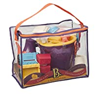 B.Toys 比乐 夏日沙滩袋套装-紫色婴幼儿童玩具礼物18个月-8岁 BX1308Z