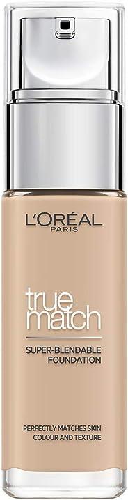 L'Oreal Paris 巴黎欧莱雅 True Match绝配无暇粉底液 2C Rose Vanilla 30ml