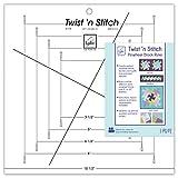 June Tailor JT-775 Twist 'n Stitch 标尺