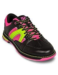 KR Strikeforce 女式 Quest 保龄球鞋 - 黑色/粉色/黄色 Black/Pink/Yellow 7.5