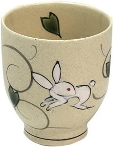 仅限热水:有田烧 兔子唐草 茶杯(紫)
