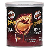 Pringles 品客薯片 热辣味,12包(12×40克)