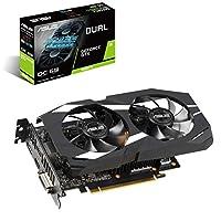 华硕 GeForce GTX 1660 Ti 6GB 双风扇超频版 VR Ready 双 HDMI DP 1.4 游戏显卡(双 GTX1660TI-O6G)