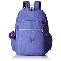 Kipling Seoul GO Bold 紫色笔记本电脑背包,粗紫色