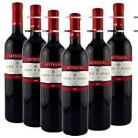 Settesoli 西施西里干红葡萄酒—黑达沃拉750ml*6(意大利进口红酒)