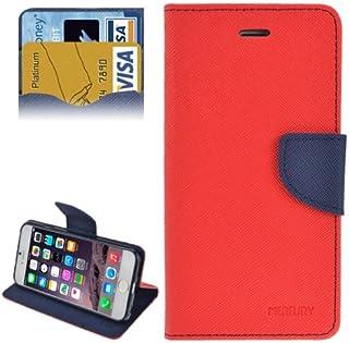 alsatek Mercury 手机壳覆盖 PU 皮革,适用于 iPhone 6 Plus – 红色
