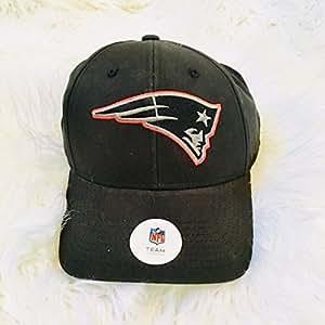 粉丝*爱的 NFL 新英格兰爱国者队黑色大尺寸可调节棒球帽/帽子