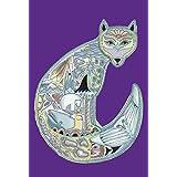 Toland Home Garden Animal Spirits Arctic Fox 12.5 x 18 Inch Decorative Native Spiritual Alaska Tundra Garden Flag