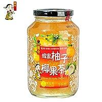 韩今(韩国) 蜂蜜柚子椰果茶1kg(韩国进口)(亚马逊自营商品, 由供应商配送)