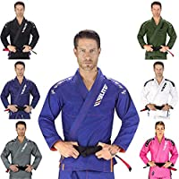 Elite Sports IBJJF 超轻 BJJ 巴西柔术服Gi 带防缩面料和免费腰带