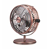 Holmes Heritage 桌面風扇, 6-inch, Brushed Copper