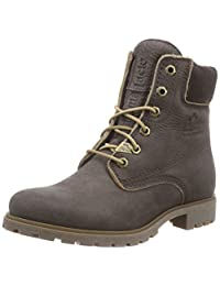 PANAMA JACK Women's Panama 03 Wash Warm Lined Boots Ankle Boots, Brown (Brown), 8 UK