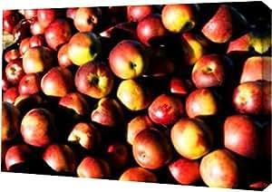 "PrintArt GW-POD-11-PSHSF-254-30x20""Apples"" 由 Alan Hausenflock 画廊装裱艺术微喷油画艺术印刷品,76.2 x 50.8 cm"