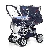 reer PEVA 通用 - 雨保护, 适用于婴儿车, 运动车, 手推车