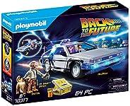 Playmobil 70317 Back to the Future Fahrzeugset, Mehrfarbig