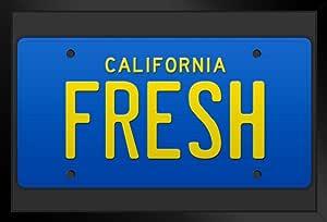 Fresh California Cab 电视节目牌照海报 30.48x45.72 电视节目牌照 Multi-color / 5870 Framed in Black Wood 14x20 inch 115441