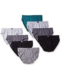 Hanes 男式 8 条装 X-Temp 低腰运动内裤
