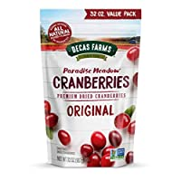 Paradise Meadow Premium Dried Cranberries, 32 Ounce