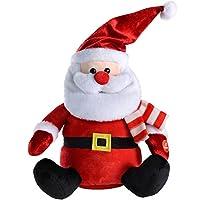 WeRChristmas 30 cm 散步/舞蹈和唱歌圣诞装饰 多种颜色 15 x 15 x 27 cm WRC-7012