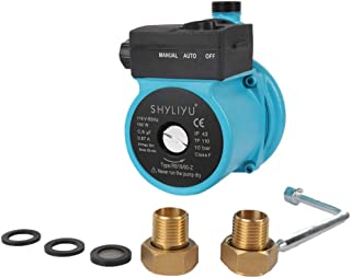 "SHYLIYU 115V/60HZ 100W 3/4"" 出水自动压力增压泵热水循环泵"