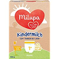 Milupa milumil 幼兒奶粉 適用于1歲以上幼兒,5盒裝(5 x 550g)