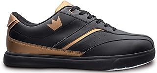 Brunswick 男式 Vapor 黑色/铜色保龄球鞋