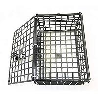 KUFA 7 x 5 x 3.5 英寸(约 17.8 x 12.7 x 8.9 厘米)可折叠塑料螃蟹陷阱诱饵箱 EL-10