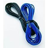 Riffe 重型乙烯基漂浮线组装,适用于钓鱼和自由化(黑色,63.50 米)