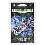 Fantasy Flight Games Arkham Horror:卡片游戏 - 未标注尺寸和未见的 Mythos 包