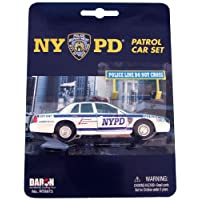 Daron NYPD Police Car Set