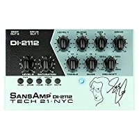 Tech 21 Geddy Lee Signature SansAmp DI-2122 低音前置放大器踏板